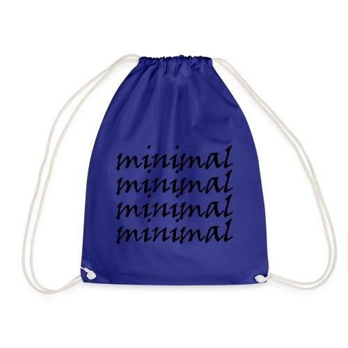Minimal Design - Turnbeutel