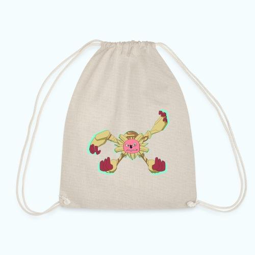 SPIDER MONSTER real drawing - Drawstring Bag
