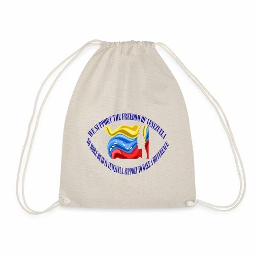 Venezuela I support you - Drawstring Bag