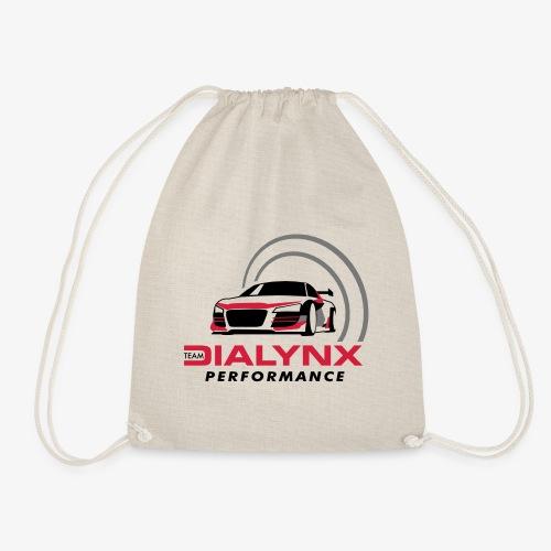Dialynx Performance Race Team White Range - Drawstring Bag