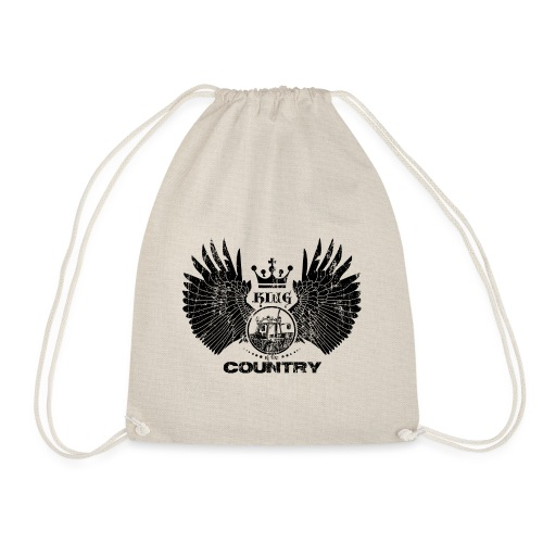 IH King of the country (black design) - Gymtas