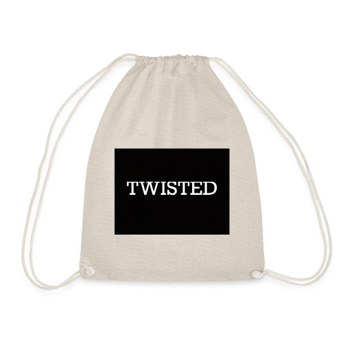 Twisted - Drawstring Bag