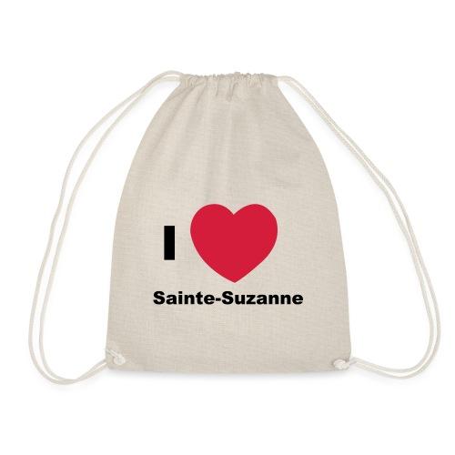 i love sainte suzanne - Sac de sport léger