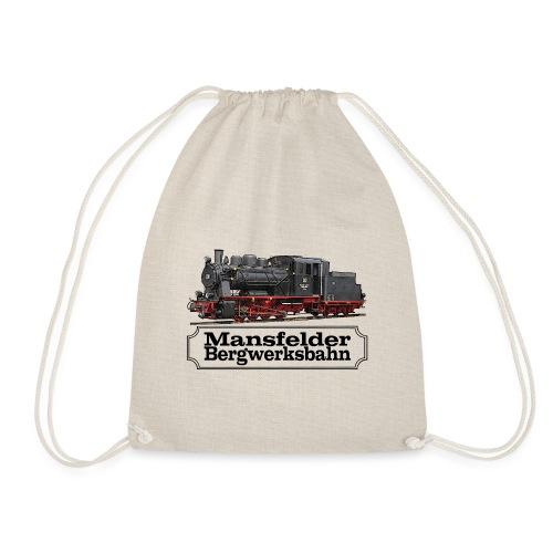 mansfelder bergwerksbahn dampflok 1 - Turnbeutel