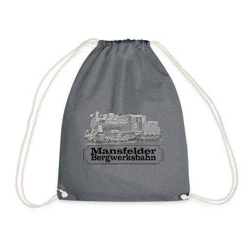 mansfelder bergwerksbahn dampflok 2 - Turnbeutel
