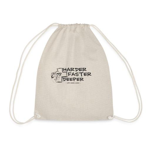 HARDER FASTER DEEPER - Turnbeutel