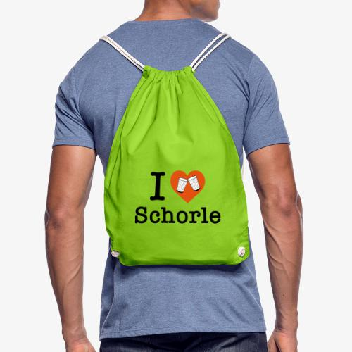 I love Schorle – Dubbeglas - Turnbeutel