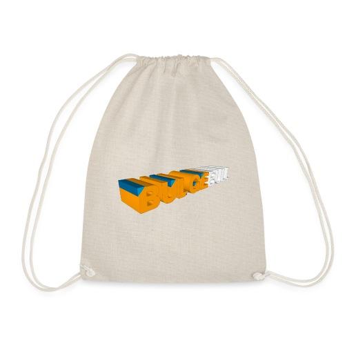 bulgebull logo 3d - Drawstring Bag