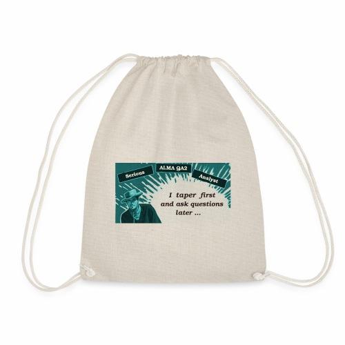tapering - Drawstring Bag