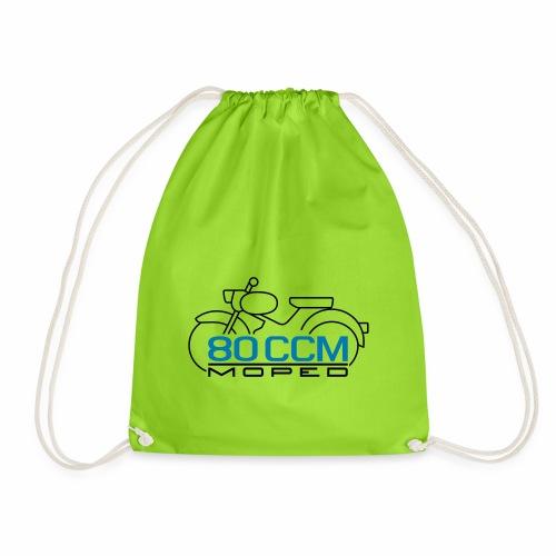 Moped sparrow 80 cc emblem - Drawstring Bag