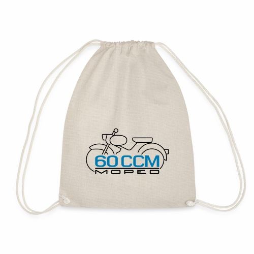 Moped sparrow 60 cc emblem - Drawstring Bag