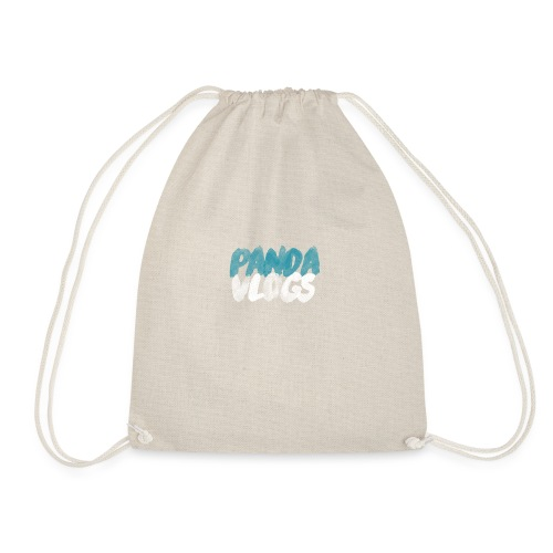 PandaVlogs - Drawstring Bag
