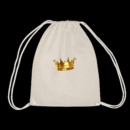 LONE ROYALS CROWN - Drawstring Bag