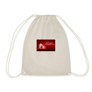 Stylish Merry Christmas Hd Wallpapers free - Drawstring Bag