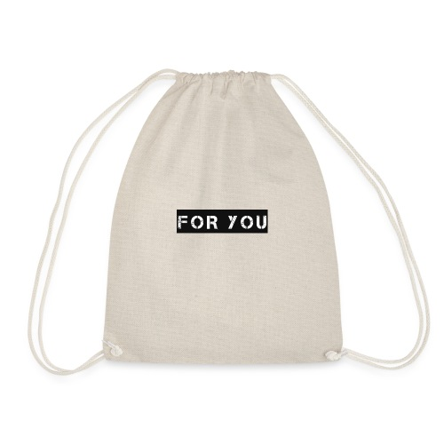 For You - Mochila saco