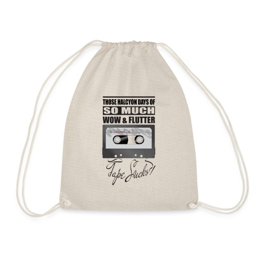 Tape Sucks! - Drawstring Bag