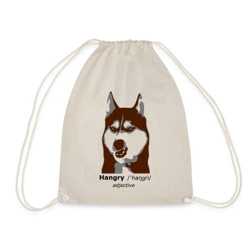 Hangry - Grumpy Dog - Husky Dog - Turnbeutel