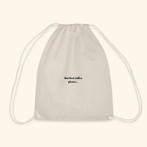 Coffee - Drawstring Bag