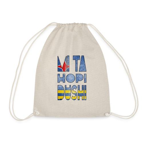 mi ta hopi dushi aruba - Drawstring Bag