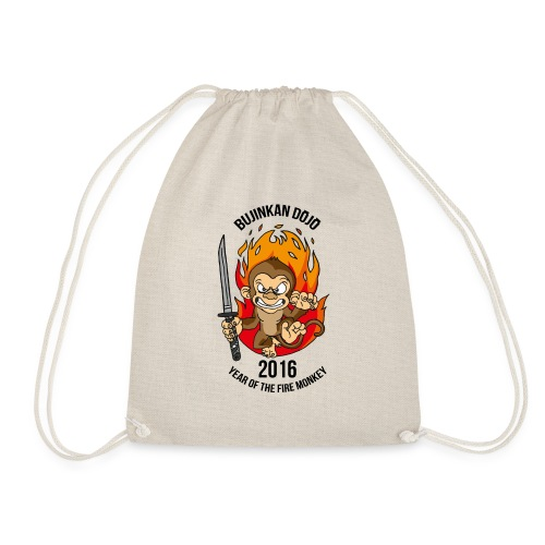 Fire monkey - Drawstring Bag
