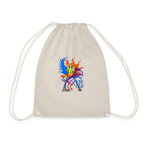 Angel Messenger - Drawstring Bag
