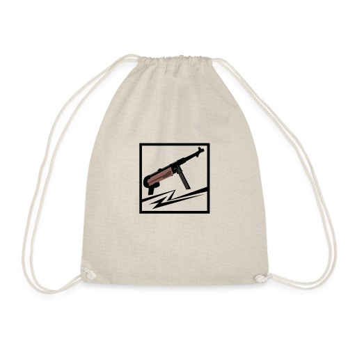 Mp40 german gun - Drawstring Bag