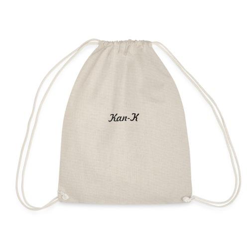 Kan-K text merch - Drawstring Bag