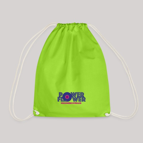 Logo PowerFlower colori - Sacca sportiva