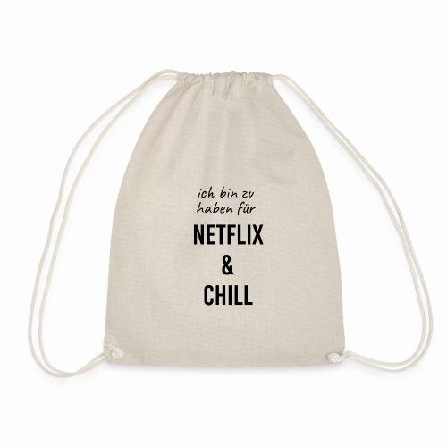 Netflix & Chill - Turnbeutel