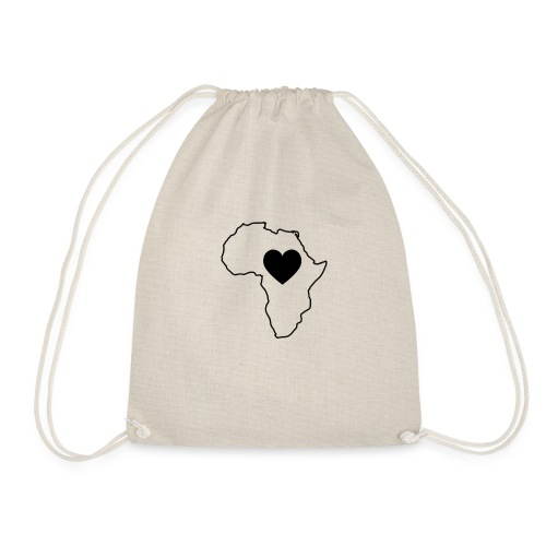 African Continent - Turnbeutel
