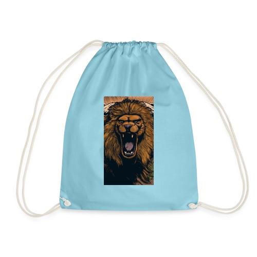 Lion grin - Turnbeutel