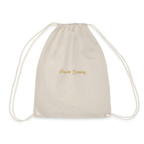 frantic gaming baseball cap - Drawstring Bag