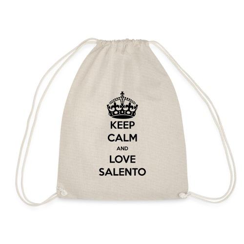 KEEP CALM LOVE SALENTO - Sacca sportiva