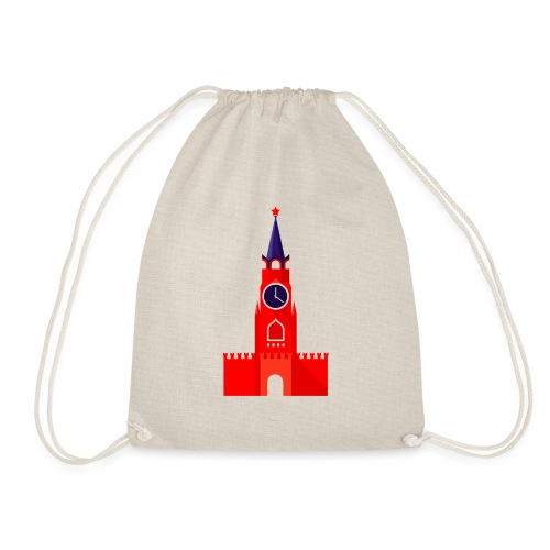 Kremlin by Julia Dudnik - Drawstring Bag