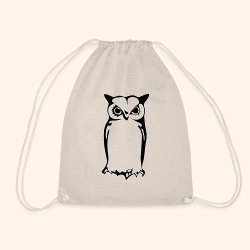 Cute Owl - Drawstring Bag