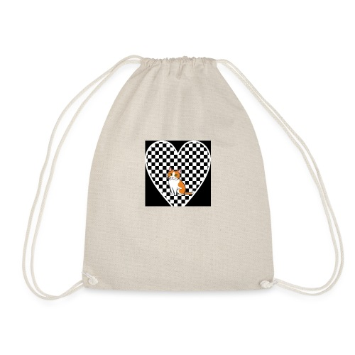 Charlie the Chess Cat - Drawstring Bag