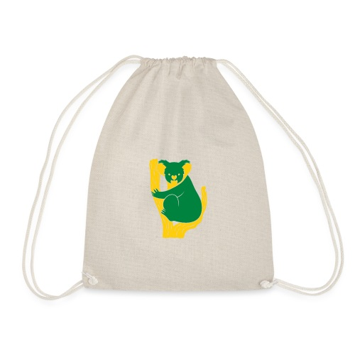 koala tree - Drawstring Bag