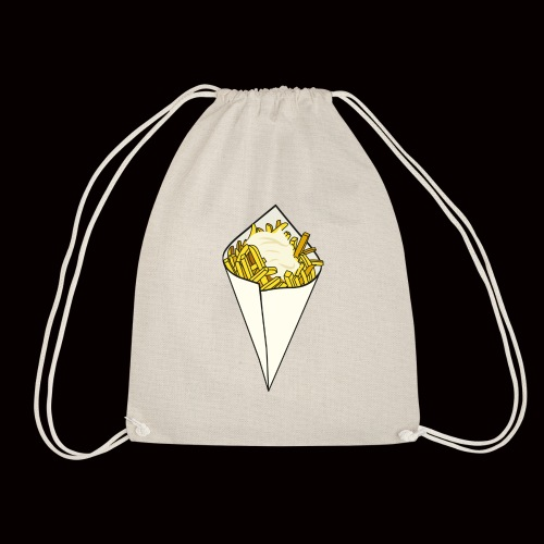 Quarter pounder with cheese - Drawstring Bag