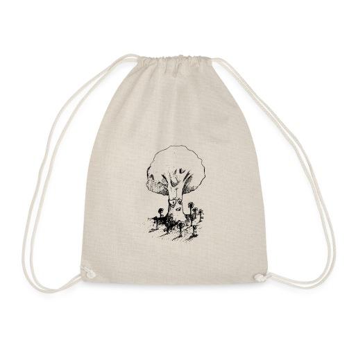 Sage Tree - Drawstring Bag