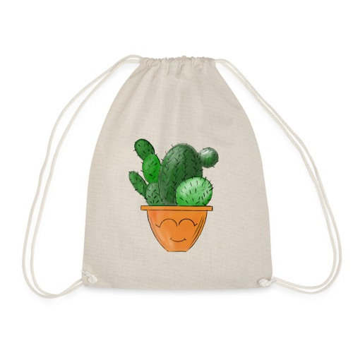 Kleiner Kaktus - Turnbeutel