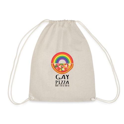 Gay Pizza   LGBT   Pride - Turnbeutel