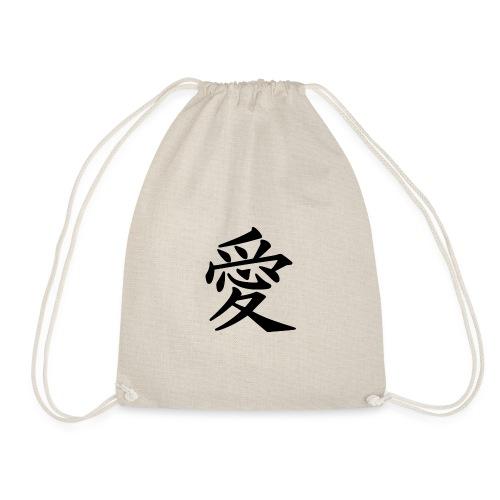 kinesisk love symbol - Sportstaske