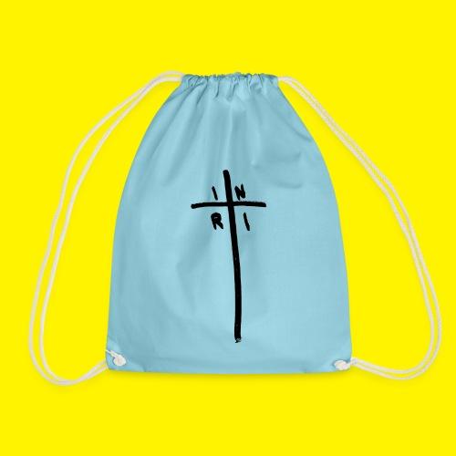 Cross - INRI (Jesus of Nazareth King of Jews) - Drawstring Bag