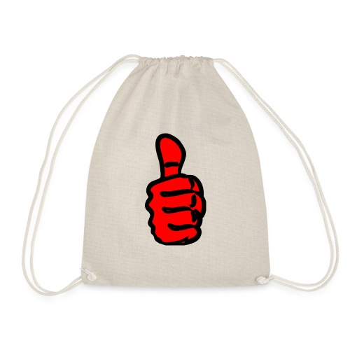 large-Thumbs-Up - Drawstring Bag