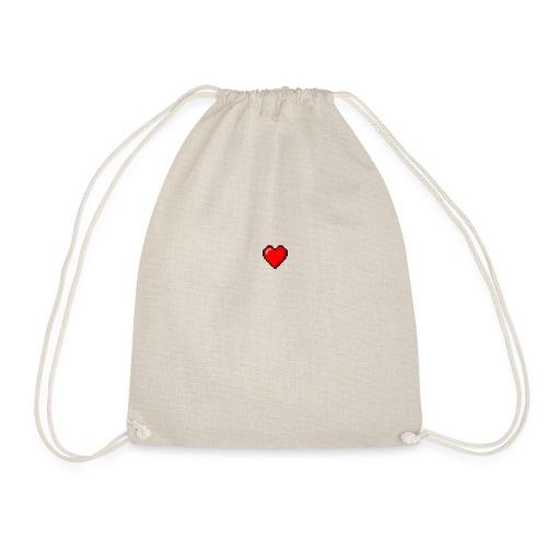 8BIT HEART - Mochila saco