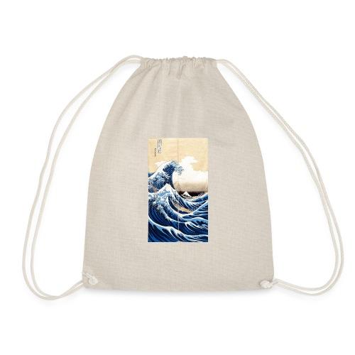 La grande vague de Kanagawa - Sac de sport léger