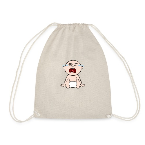 Heulendes Baby - Turnbeutel