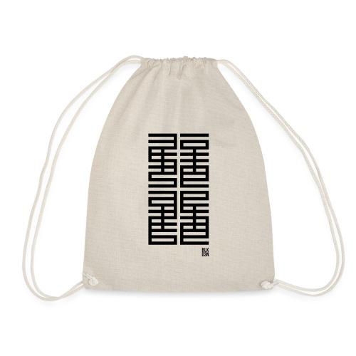 BLK D3N 013 - Drawstring Bag