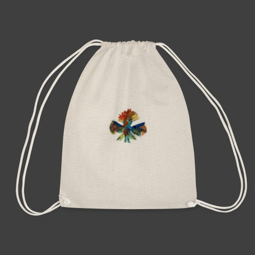 Mayas bird - Drawstring Bag