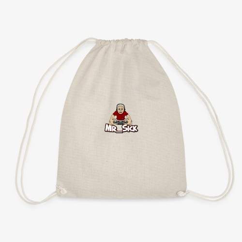 Mr_sick ​​Logo - Drawstring Bag